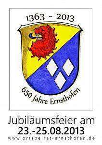 plakat 650Jahre A0 130421 001 212x300 - Ernsthofen Modautal