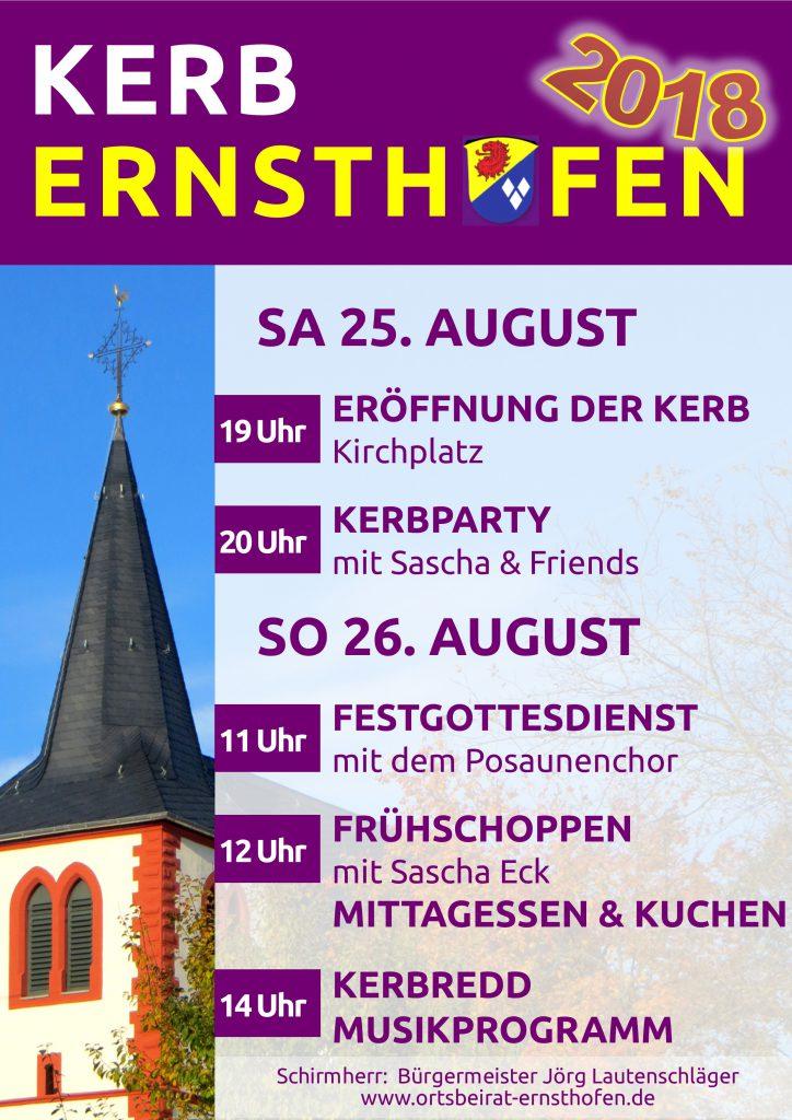 Plakat 2018 Final 724x1024 - Kerb Ernsthofen 2018