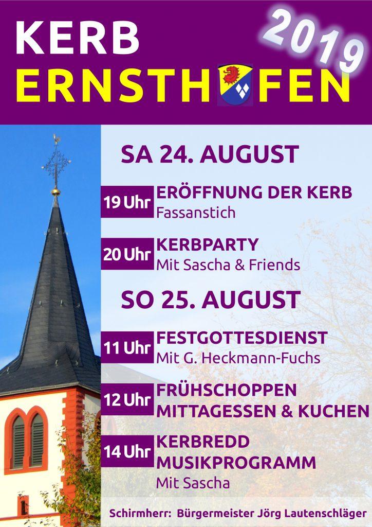 Plakat 2019 v04 724x1024 - Kerb Ernsthofen 2019