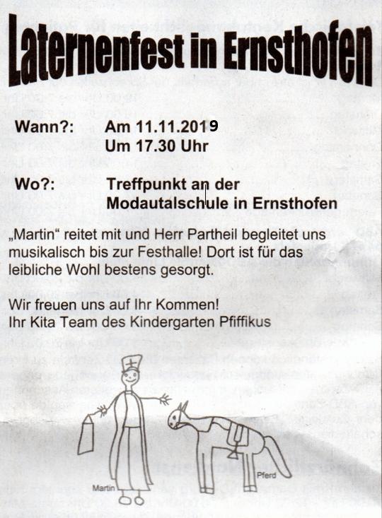 Lat 2019 - Laternenfest in Ernsthofen