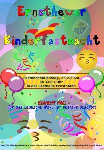 Kinderfasching in Ernsthofen 2020